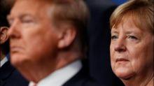 Trump kündigt nach Korb von Merkel Verschiebung und Erweiterung von G7-Gipfel an