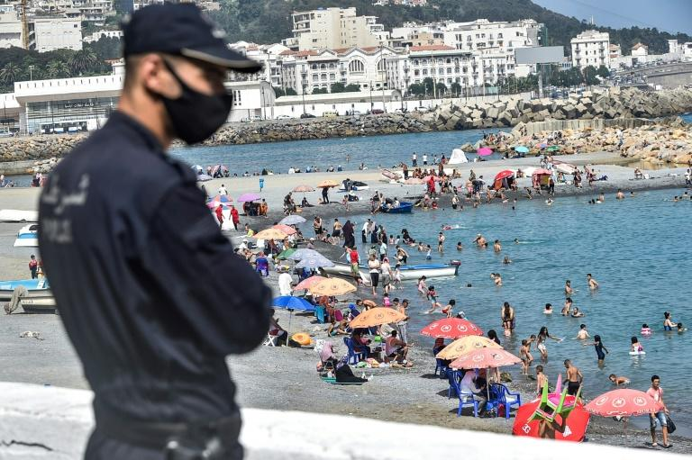Algeria put in place widespread restrictions to combat the spread of the coronavirus pandemic, including restriction anti-government protests