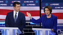 Amy Klobuchar and Pete Buttigieg clashed more than ever in the Vegas debate. These numbers show why.