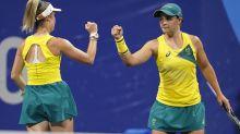 Doubles delight for Aust, Osaka dominates
