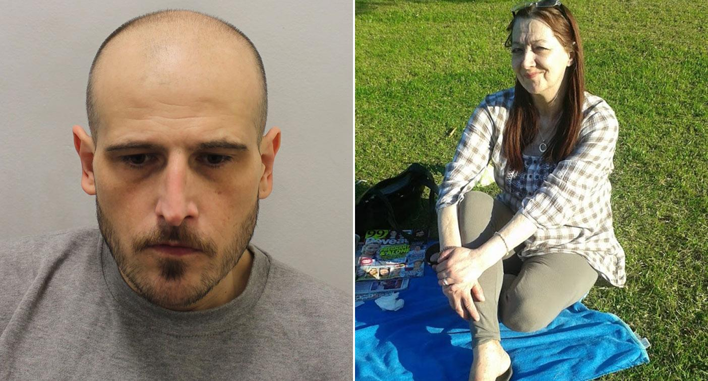 Lodger killed flatmate then lived with her body for weeks