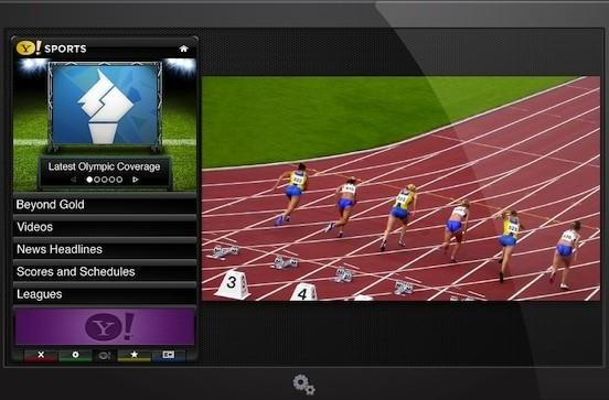 Yahoo shows off Beyond Gold Olympics app for its connected HDTVs
