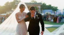 Priyanka Chopra's 75-Foot Wedding Veil Was Even Longer Than Meghan Markle's