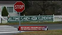 New Security Measures As Newtown Students Return To School