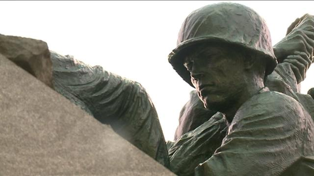 Vets Protest Closing Of Iwo Jima Memorial In New Britain