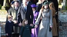 Princess Charlotte and Duchess of Cambridge coordinate Christmas Day ensembles