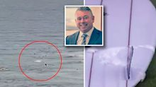 Gold Coast man's horrific shark attack death caught on camera