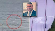 Gold Coast man's horrific shark attack death caught on camera