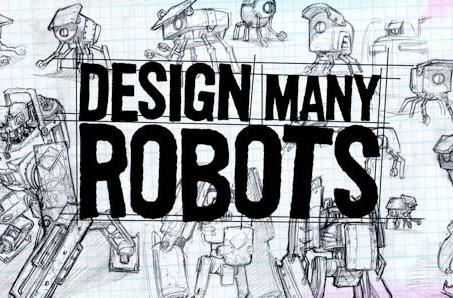 'Design Many Robots' and get featured in Shoot Many Robots DLC