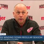 Red Wings wrap up regular season with two games in Columbus