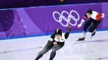 Japan's Kodaira stuns S. Korean champ to win speed skate gold