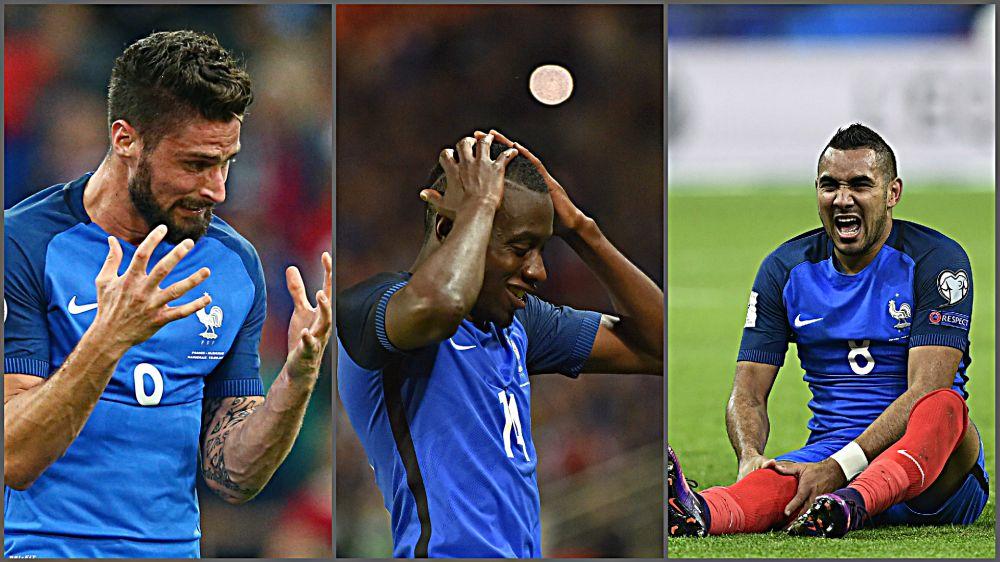 Equipe de France - Giroud, Matuidi, Payet, leurs places sont en danger