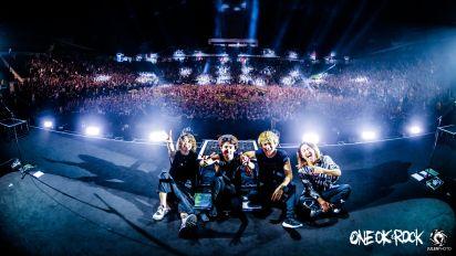 6,500 fans turn up for ONE OK ROCK concert