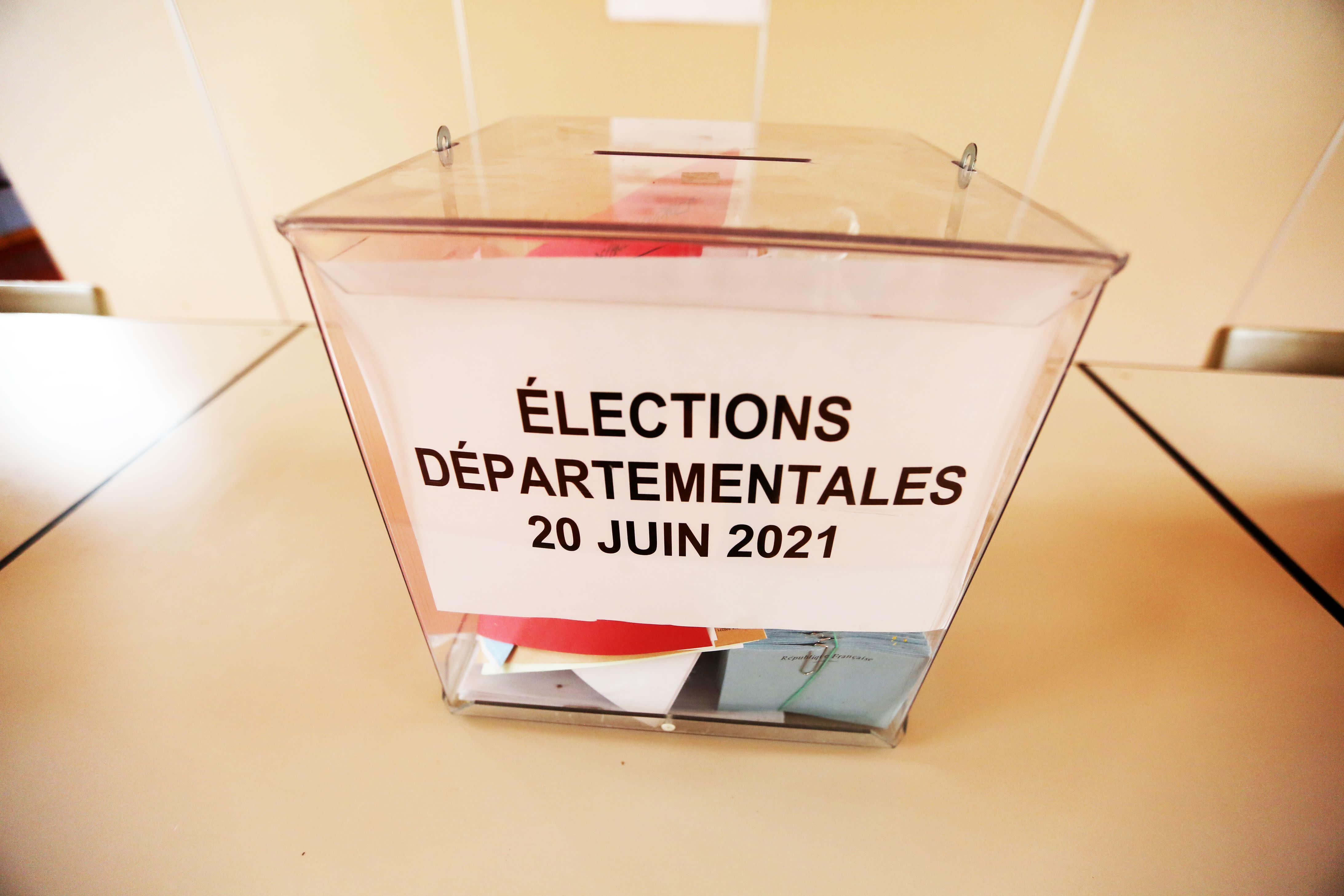 Elections départementales 2021: un premier tour qui ne bouleverse pas les équilibres