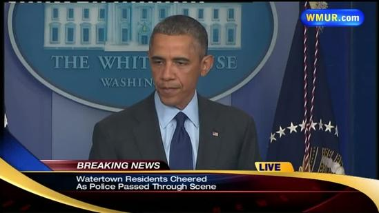 Raw Video: President Obama discusses capture of bombing suspect