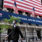 Coronavirus: New York Stock Exchange trading floor reopens