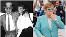 De sus relaciones olvidadas a sus éxitos: la vida de Elton John, en imágenes