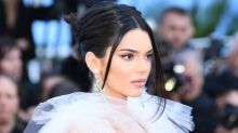 Kendall Jenner Sports Another Sheer Dress at Cannes Film Festival