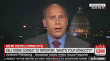 Andrew Feinberg responds to Kellyanne Conway's 'inappropriate question'