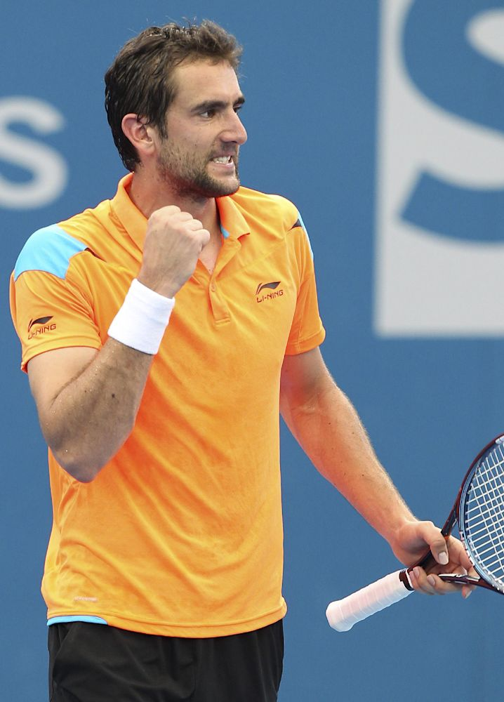 Cilic defeats Haas to win Zagreb Indoors