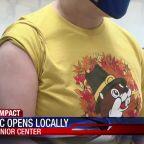 Pfizer clinic opens locally