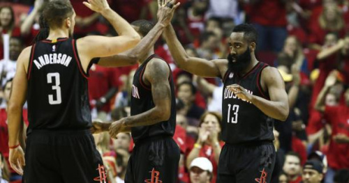 Basket - NBA - James Harden et Houston sans pitié pour Oklahoma City