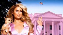 """Paris Hilton si """"candida"""" alla Casa Bianca: i post divertenti"""