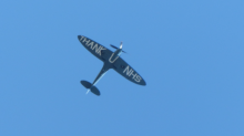 Thank You NHS Spitfire flypast: Iconic plane soars above hospitals in tribute to coronavirus heroes
