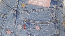 Upcycled by Miu Miu breathes new life into denim pieces