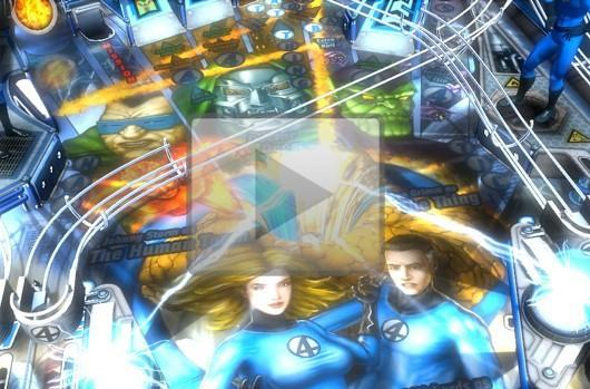Fantastic Four table for Marvel Pinball and Pinball FX 2 in May