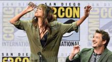 Halle Berry's Hair Was on Point While She Chugged Whiskey at Comic-Con