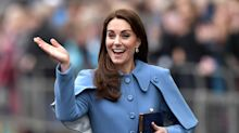 """In diesem Mantel erinnerte Herzogin Kate an eine bekannte """"Harry Potter""""-Figur"""