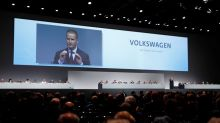 Volkswagen CEO says still trying to overcome diesel cheating scandal