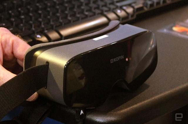 VR headsets could soon be half the size of the Oculus Rift