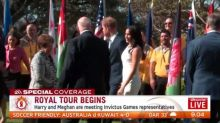 Invictus Games at centre of Harry and Meghan's visit