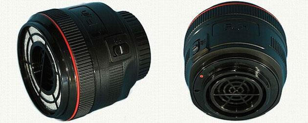 Fujin is a vacuum cleaner for your DSLR