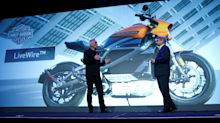 UPDATE 1-Harley-Davidson halts electric motorcycle production