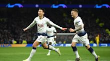 Tottenham 1-0 Manchester City: Son strikes as Aguero misses VAR penalty and Kane limps off