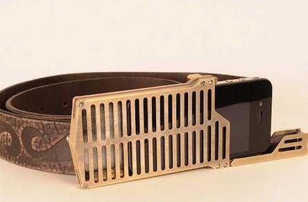 The iPhone belt buckle holster is for the cowboy in you
