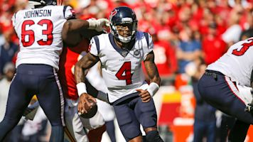 NFL Week 6 Sunday Huddle: Deshaun Watson wins QB duel vs. Chiefs; 49ers top Rams to stay undefeated