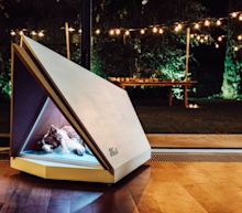 Ford unveils chic noise-cancelling kennel just in time for New Year's fireworks