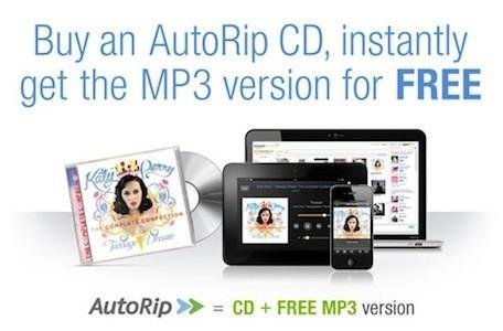 Amazon announces AutoRip, gives users free MP3s of CDs they've bought