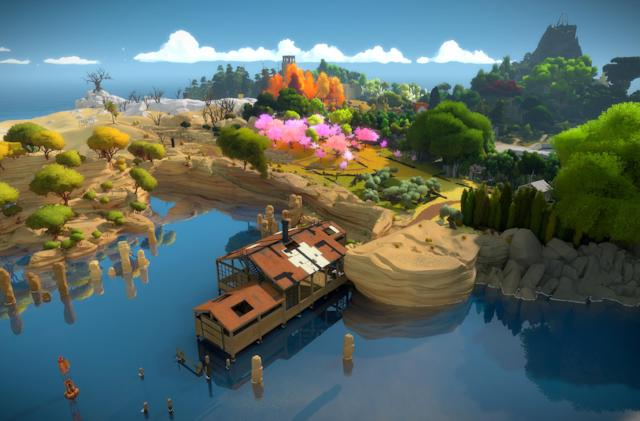 Jonathan Blow's 'The Witness' gets the PlayStation 4 Pro treatment
