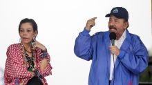 Ortega's VP wife says Nicaragua leaving 'darkness' behind