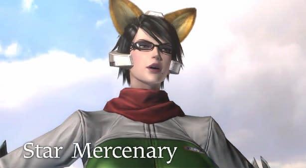 Bayonetta 2 channels Fox McCloud with 'Star Mercenary' outfit