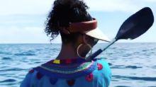 Alicia Keys and Swizz Beatz safely make it back to land after kayak adventure