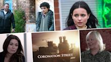 Next week on Coronation Street: Will Mellor's debut scenes revealed, plus Tyrone gets closer to Alina (spoilers)