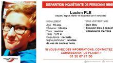 Yvelines : Lucien, 16 ans, retrouvé sain et sauf