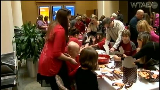Valentine's dance brings kids with disabilities together