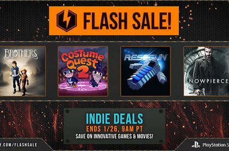 PSN Indie game flash sale: Resogun, Brothers, Shadow Warrior
